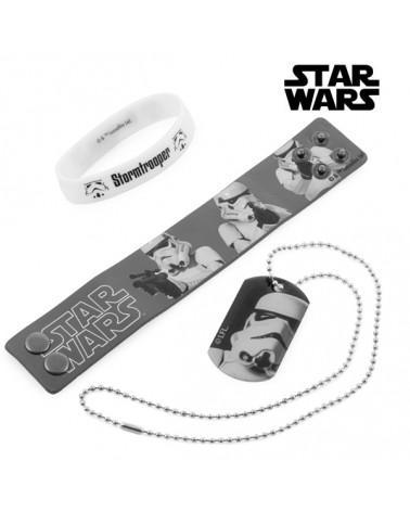 Bracelets et Pendentif Stormtrooper (Star Wars)