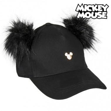Casquette Baseball Mickey Mouse 75337 Noir (58 Cm)
