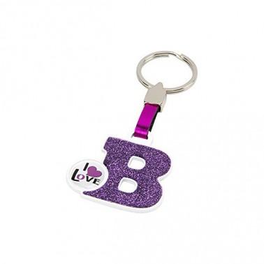 Porte-clés Lettre B
