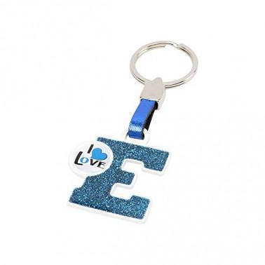 Porte-clés Lettre E