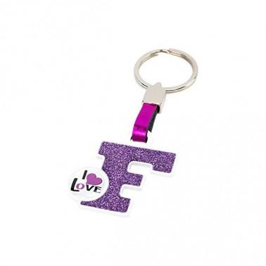 Porte-clés Lettre F