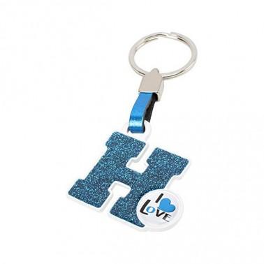 Porte-clés Lettre H
