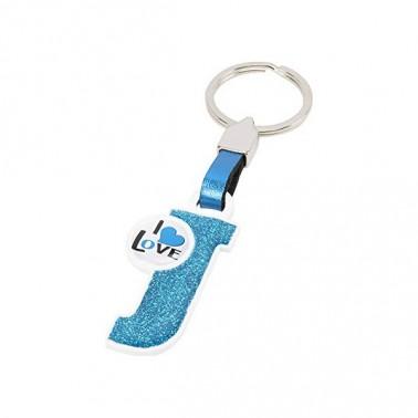 Porte-clés Lettre J