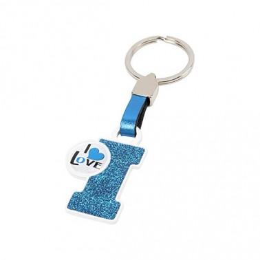 Porte-clés Lettre I