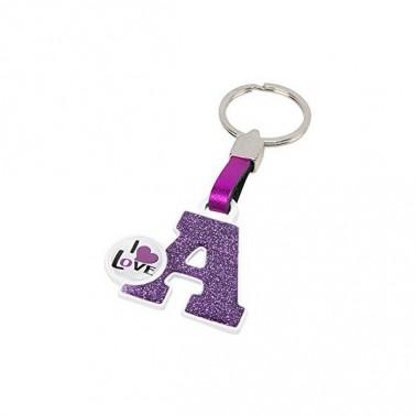 Porte-clés Lettre A