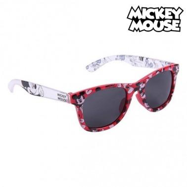 Lunettes de soleil enfant Mickey Mouse Rouge