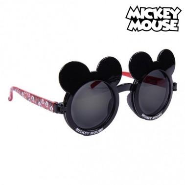 Lunettes de soleil enfant Mickey Mouse Noir Rouge