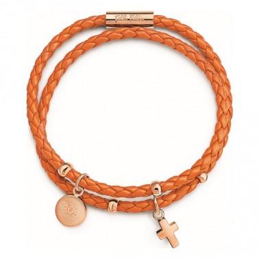 Bracelet Folli Follie Orange (17 cm)