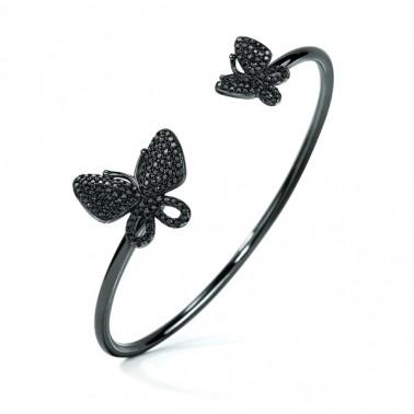 Bracelet Folli Follie Papillons Argent 925 (55 mm)