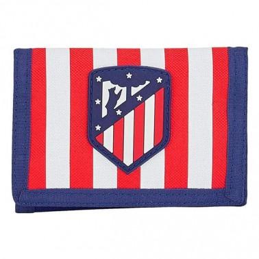 Portefeuille Atlético Madrid Bleu Blanc Rouge