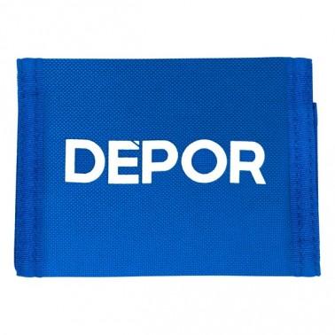 Portefeuille R. C. Deportivo de La Coruña Bleu Blanc