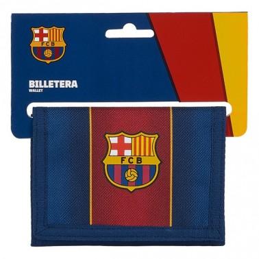 Portefeuille F.C. Barcelona 20/21 Bordeaux Blue marine