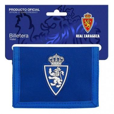 Portefeuille Real Zaragoza Bleu Bleu clair